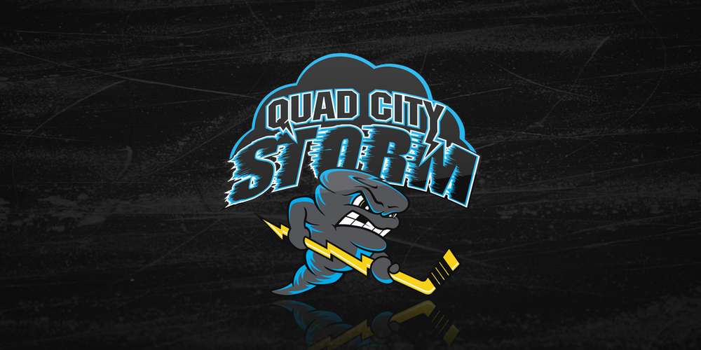 Quad City Storm (SPHL) logo / 2018—