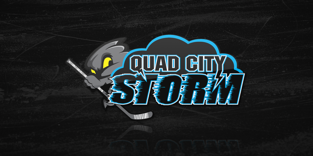 Quad City Storm logo / June 21, 2018 — July 17, 2018