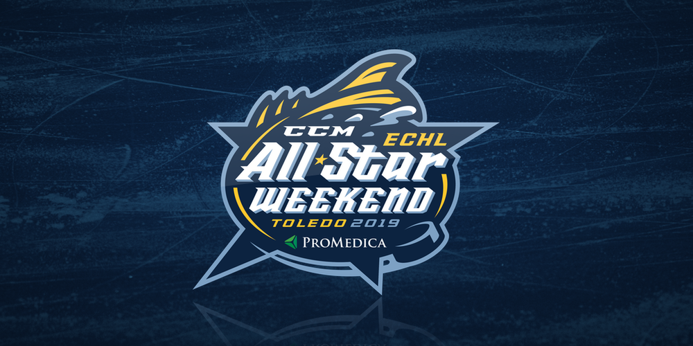 2019 ECHL All-Star Weekend Logo with sponsor