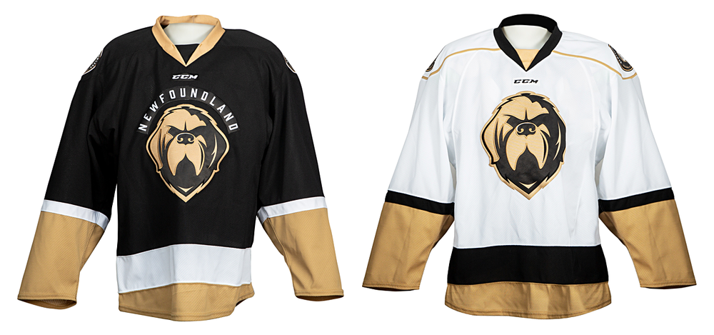 Newfoundland Growlers jerseys, 2018—