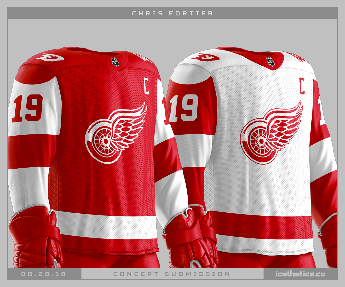 finest selection 93a7a f458d Revising the Red Wings — icethetics.co