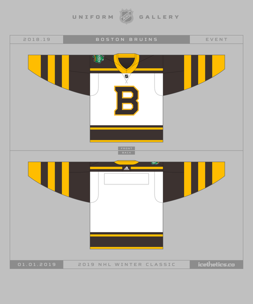 17ada396 Get a first look at the 2019 NHL Winter Classic jerseys — icethetics.co
