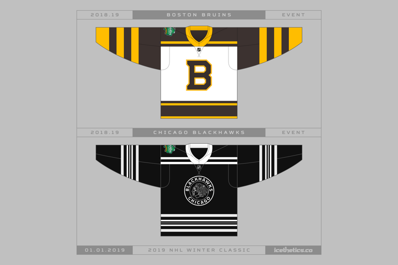 99e7a56e2da Get a first look at the 2019 NHL Winter Classic jerseys — icethetics.co