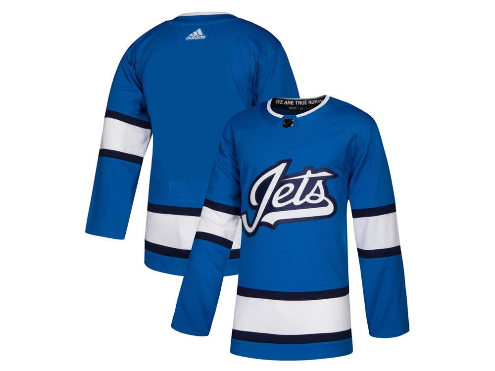 Winnipeg Jets third jersey leaked a day early