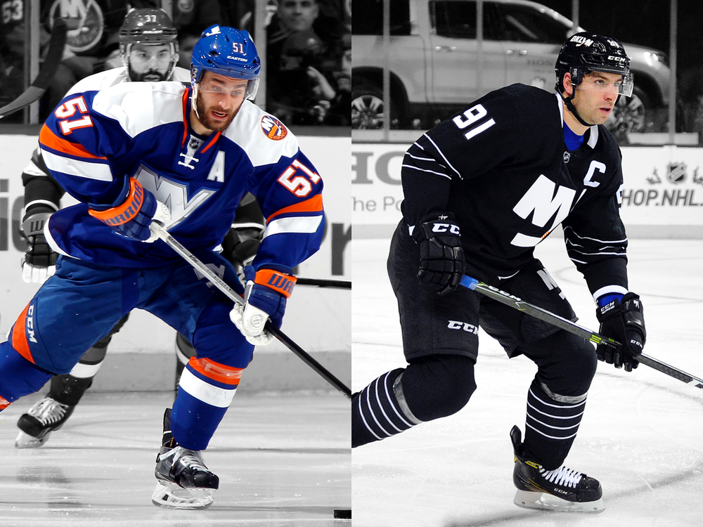 New York Islanders / 2014 Stadium Series jersey + 2015 Brooklyn third jersey
