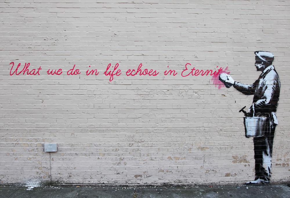 Image credit:  Banksy