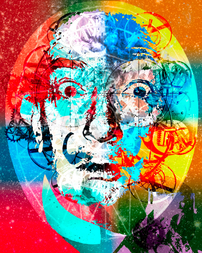 Psychedelic Dali