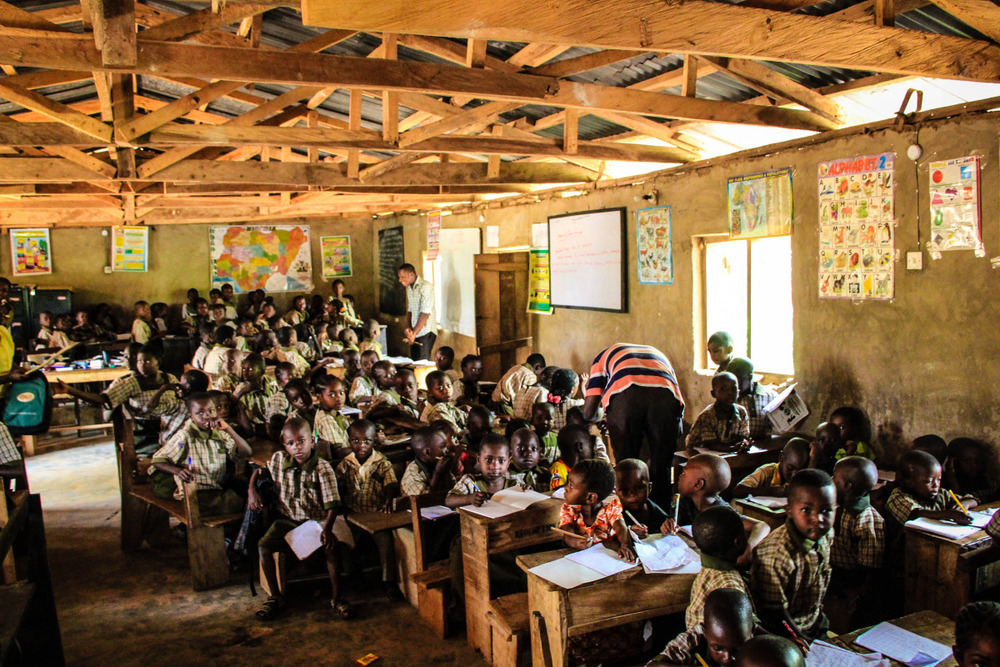 Elekuru Community School, one of the three community schools supported by Hands at Work in the Elekuru area.