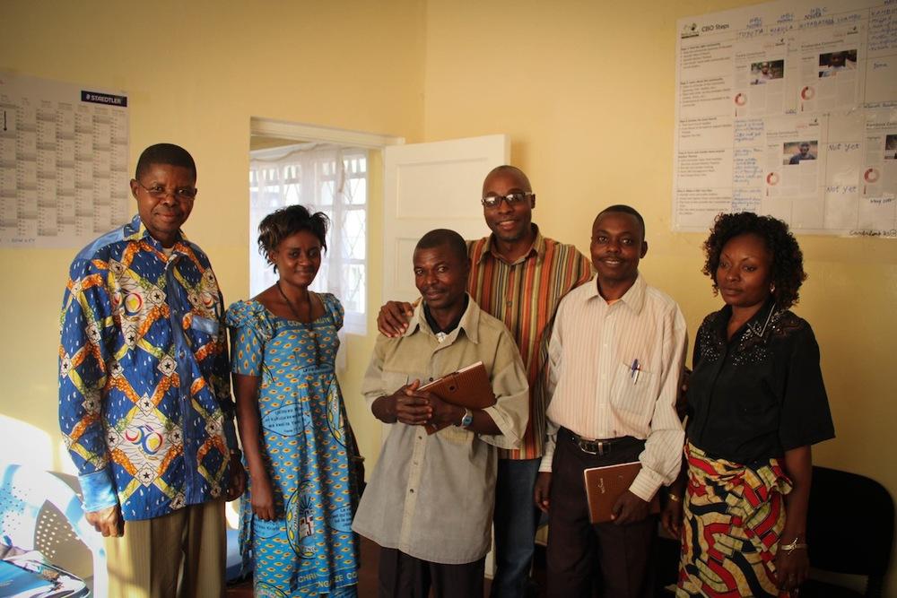 The Likasi, DRC Service Centre Team