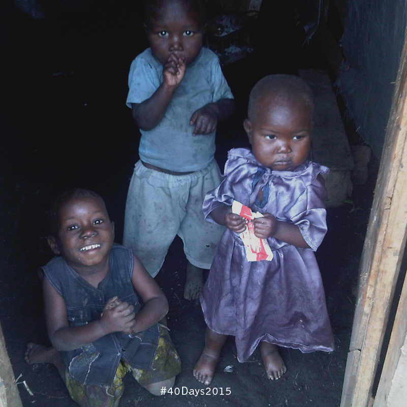 Three of the most vulnerable children