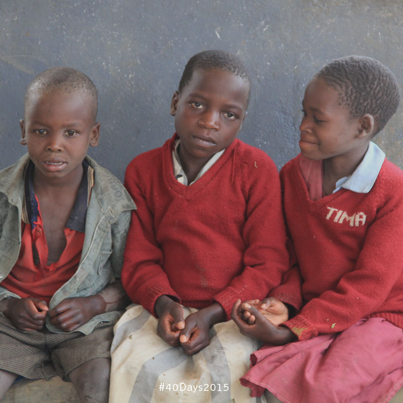 Children at school in Malawi