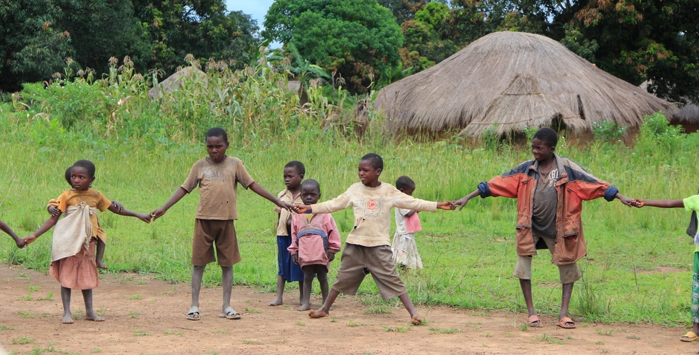 African pygmies and orphans