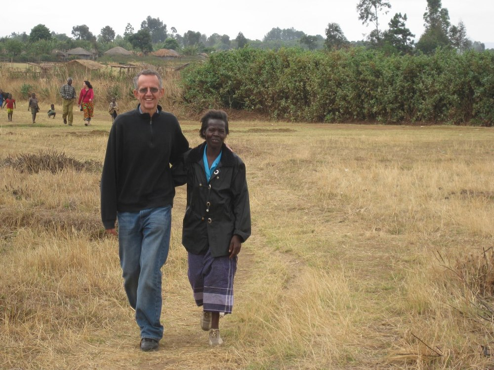 More recently in Malawi, with Violet, a key local leader