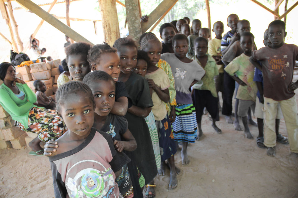 100 of the most vulnerable children in Kikula receive a daily meal, access to education and access to basic health care.