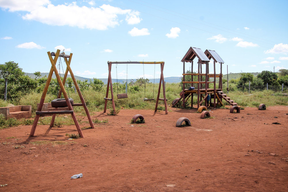 At the Msengeni Care Point, there is a playground for the children to use. Many times, children are put in positions requiring more maturity than would be expected for someone of such a young age. A Life Centre gives children the freedom to play, laugh and smile. It provides them with a safe place where they can be children.