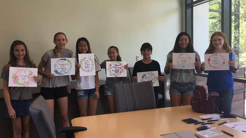 Elise Kim, a high school sophomore from Walnut Creek, California, shares her reflections from two summer art camps for youth that she organized this year.