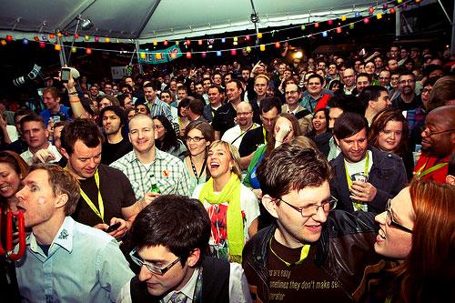 Happy Cogeoke crowd
