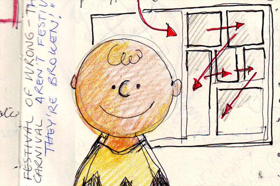 sketch notes from webstock workshop