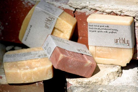 goats milk soap by urthly organics