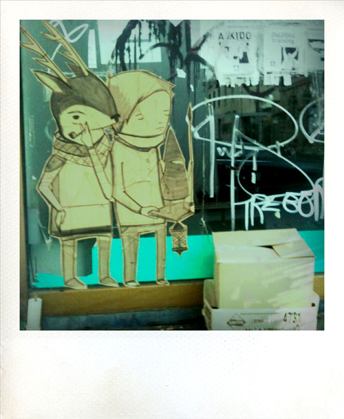 Ghost Patrol art on Smith Street