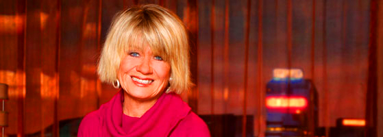snaffled photo of Margaret Pomeranz