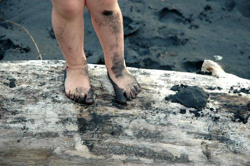 Tandia at Mokau Beach