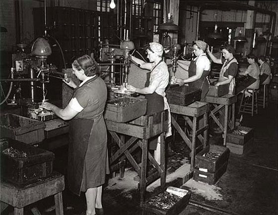 world war 2 - women at work