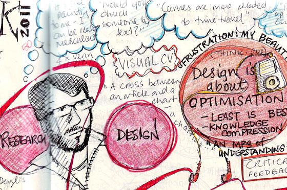 notes sketched during workshop