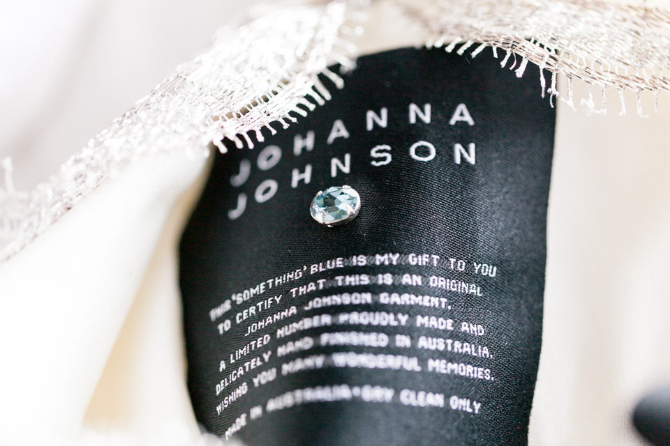 The Johanna Johnson blue crystal