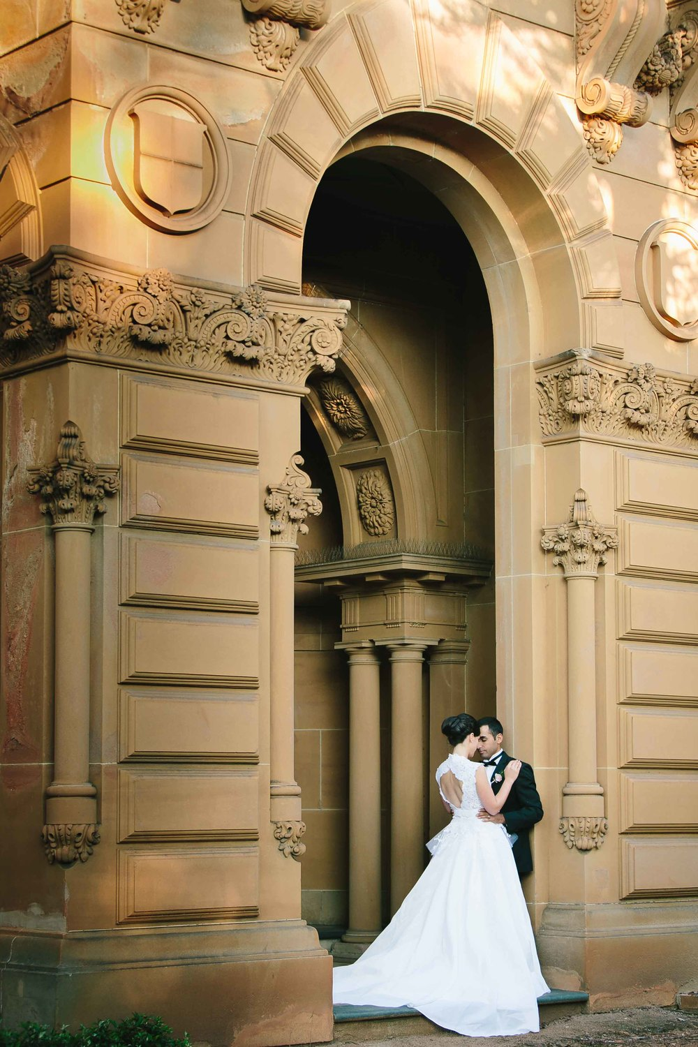 Annie and Frank wedding Santa Sabina Sydney by Milton Gan