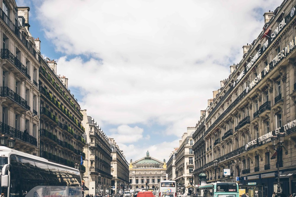The beautiful, wide avenues and boulevards often led to incredible buildings such as Palais Garnier Opera House