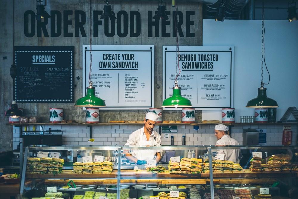 Benugo: solid sandwich shop