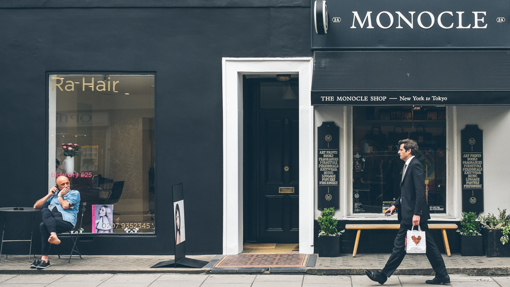 Street scene: Marylebone 2