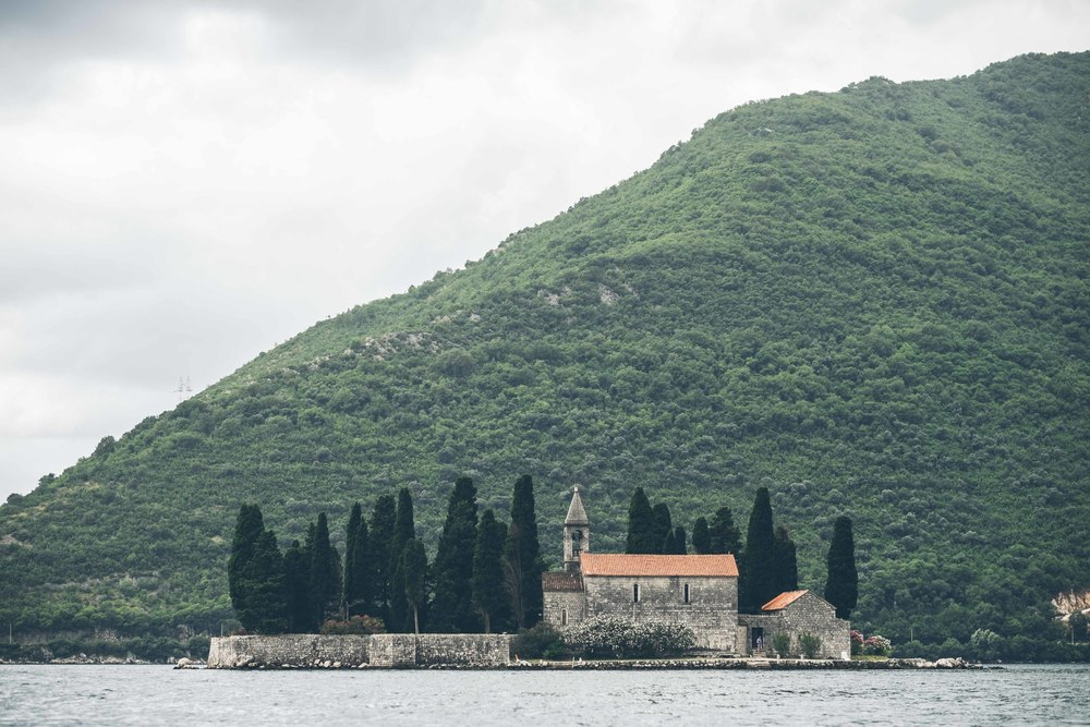 St George Benedictine Monastery, Perast, Bay of Kotor