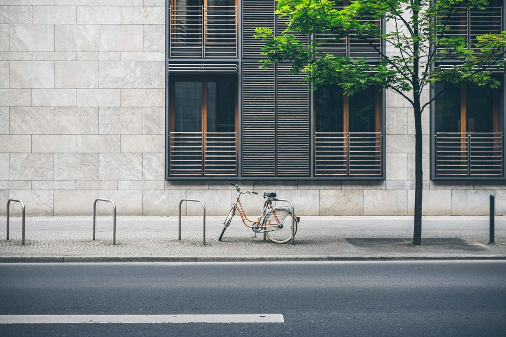 Solitude: Berlin bicycle