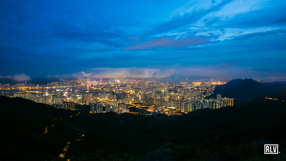 Hong Kong - Kowloon Peak - Blue Hour.jpg