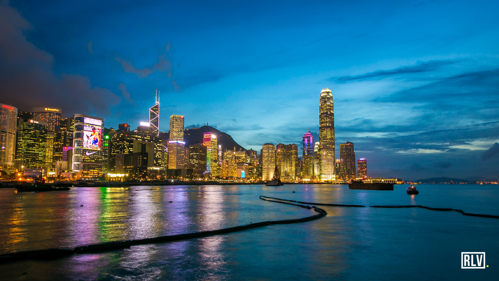 Hong Kong - View From Convention Centre - Blue.jpg
