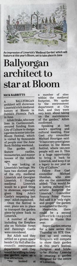 Limerick Leader, 26th April, 2014