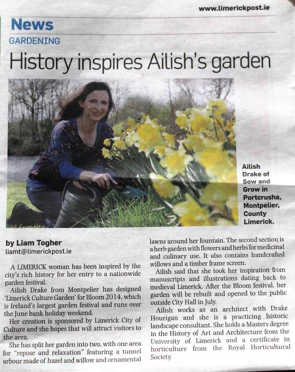 Limerick Post, 24th May, 2014