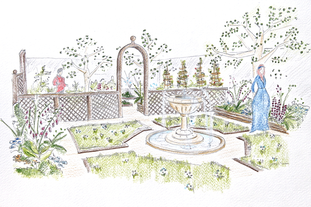 Bloom Medieval Garden Artist Impression.JPG