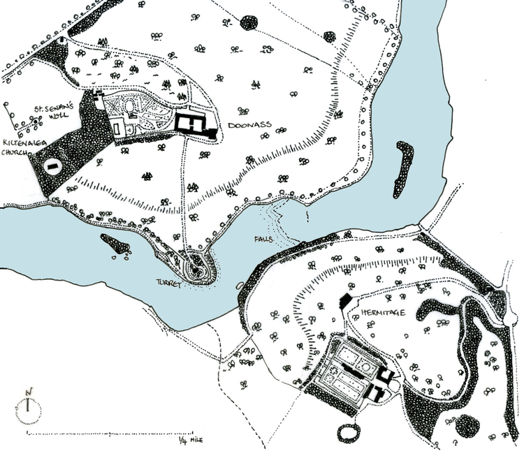 Historic Landscapes on the Shannon Rive c. 1840