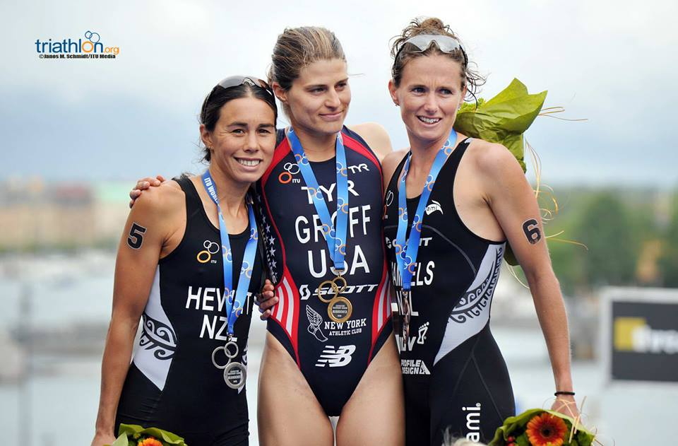 Sarah Groff won the Stockholm ITU WTS Event 2014