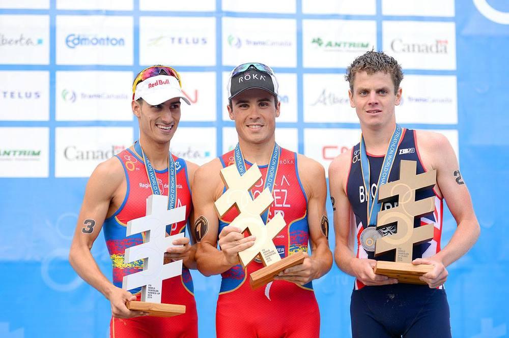 ITU World Championship Series 2014 Podium