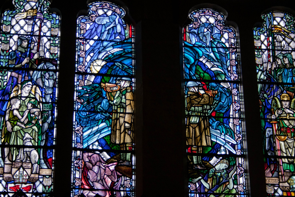 Memorial Window, Kings Colleg, Aberdeen (Douglas Strachan)