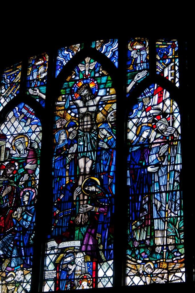 East Window, Kintore Parish Church (William Wilson)