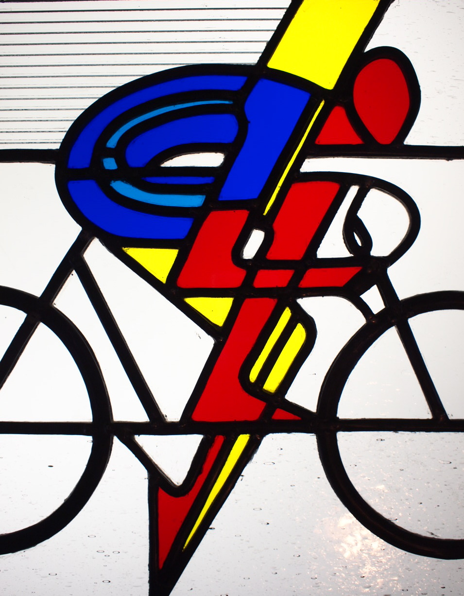 Bicycles! (Photo: R G Croudace Glass)