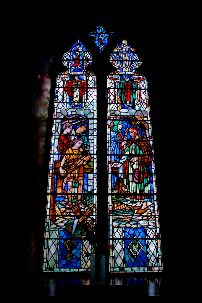 Walker Window, Glenmuick Parish Church, Ballater (Photo: Gordon Watt)