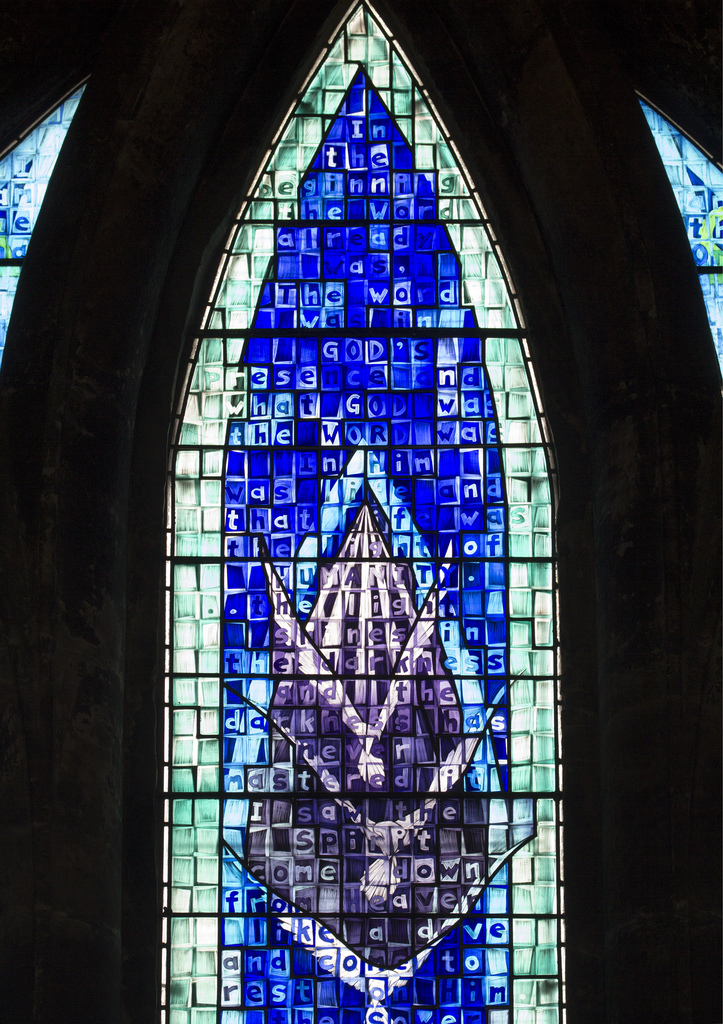 Millennium Window - Glasgow Cathedral (John Clark, 1999). Photo:  Fr Lawrence Lew, O.P