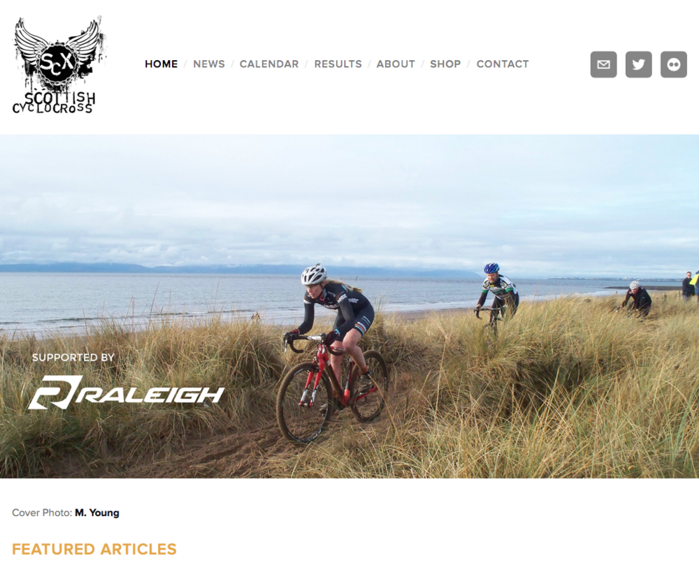 Scottish Cyclocross Homepage