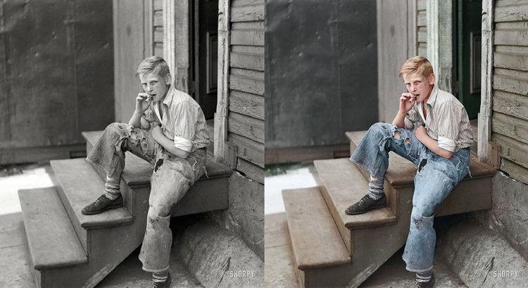 Young boy in baltimore slum area july 1938 original photograph by john vachon prints